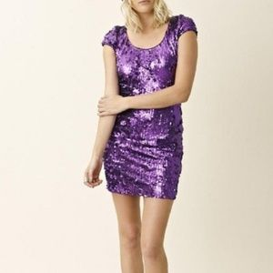 Dress the Population Gabriella Sequin dress size s
